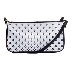 Star Pattern Decoration Geometric Shoulder Clutch Bags by Celenk