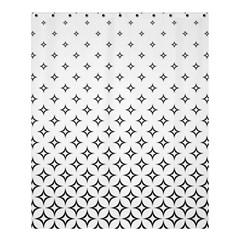 Star Pattern Decoration Geometric Shower Curtain 60  X 72  (medium)  by Celenk