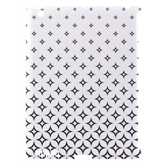 Star Pattern Decoration Geometric Apple Ipad 3/4 Hardshell Case (compatible With Smart Cover) by Celenk