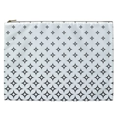 Star Pattern Decoration Geometric Cosmetic Bag (xxl)  by Celenk