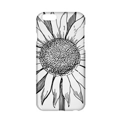 Sunflower Flower Line Art Summer Apple Iphone 6/6s Hardshell Case by Celenk