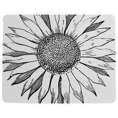 Sunflower Flower Line Art Summer Jigsaw Puzzle Photo Stand (rectangular) by Celenk