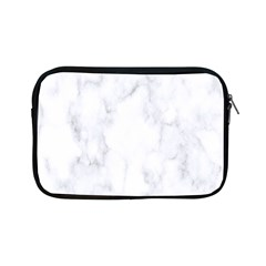 Marble Texture White Pattern Apple Ipad Mini Zipper Cases by Celenk