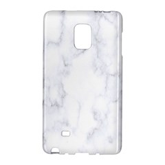 Marble Texture White Pattern Galaxy Note Edge by Celenk