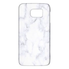Marble Texture White Pattern Galaxy S6 by Celenk