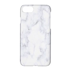 Marble Texture White Pattern Apple Iphone 8 Hardshell Case by Celenk