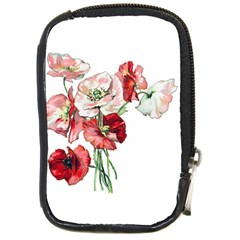 Flowers Poppies Poppy Vintage Compact Camera Cases by Celenk