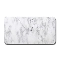 White Background Pattern Tile Medium Bar Mats by Celenk