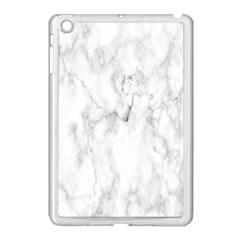 White Background Pattern Tile Apple Ipad Mini Case (white) by Celenk