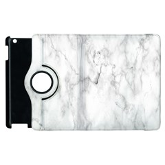 White Background Pattern Tile Apple Ipad 3/4 Flip 360 Case by Celenk