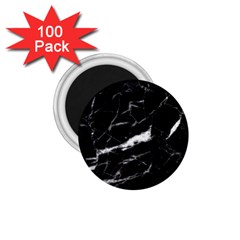 Black Texture Background Stone 1 75  Magnets (100 Pack)  by Celenk