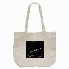 Black Texture Background Stone Tote Bag (cream) by Celenk