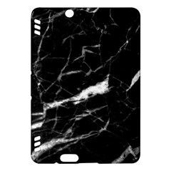 Black Texture Background Stone Kindle Fire Hdx Hardshell Case