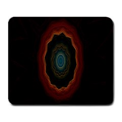 Cosmic Eye Kaleidoscope Art Pattern Large Mousepads by Celenk