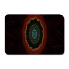 Cosmic Eye Kaleidoscope Art Pattern Plate Mats by Celenk