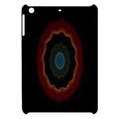Cosmic Eye Kaleidoscope Art Pattern Apple Ipad Mini Hardshell Case by Celenk