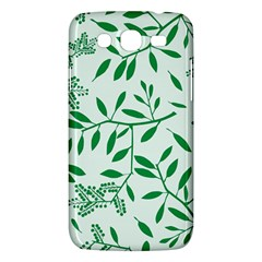 Leaves Foliage Green Wallpaper Samsung Galaxy Mega 5 8 I9152 Hardshell Case  by Celenk