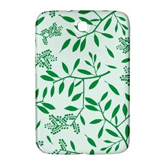 Leaves Foliage Green Wallpaper Samsung Galaxy Note 8 0 N5100 Hardshell Case  by Celenk