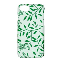 Leaves Foliage Green Wallpaper Apple Iphone 7 Hardshell Case by Celenk