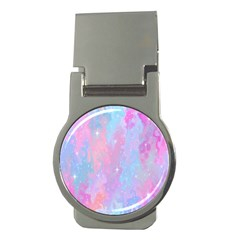 Space Psychedelic Colorful Color Money Clips (round)  by Celenk