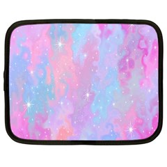 Space Psychedelic Colorful Color Netbook Case (xxl)  by Celenk