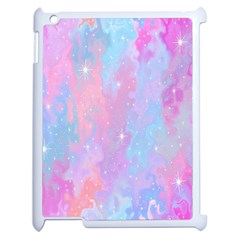 Space Psychedelic Colorful Color Apple Ipad 2 Case (white) by Celenk