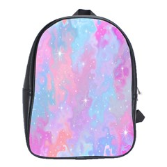 Space Psychedelic Colorful Color School Bag (xl) by Celenk