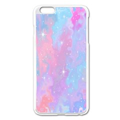 Space Psychedelic Colorful Color Apple Iphone 6 Plus/6s Plus Enamel White Case by Celenk