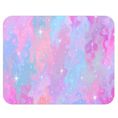 Space Psychedelic Colorful Color Double Sided Flano Blanket (medium)  by Celenk