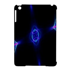 Lightning Kaleidoscope Art Pattern Apple Ipad Mini Hardshell Case (compatible With Smart Cover) by Celenk