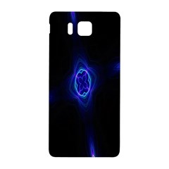 Lightning Kaleidoscope Art Pattern Samsung Galaxy Alpha Hardshell Back Case by Celenk