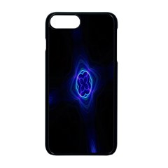 Lightning Kaleidoscope Art Pattern Apple Iphone 8 Plus Seamless Case (black) by Celenk