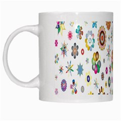Design Aspect Ratio Abstract White Mugs by Celenk