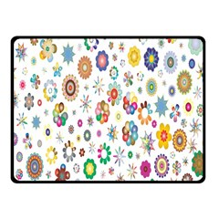 Design Aspect Ratio Abstract Fleece Blanket (small) by Celenk