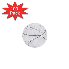 White Background Pattern Tile 1  Mini Buttons (100 Pack)  by Celenk