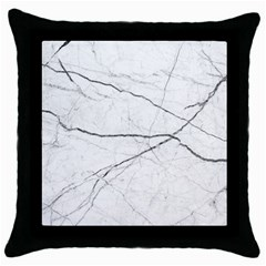 White Background Pattern Tile Throw Pillow Case (black) by Celenk