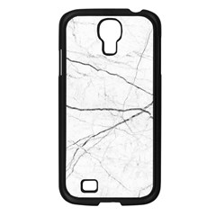 White Background Pattern Tile Samsung Galaxy S4 I9500/ I9505 Case (black) by Celenk