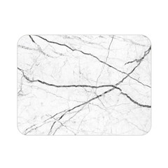 White Background Pattern Tile Double Sided Flano Blanket (mini)  by Celenk