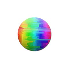 Colors Rainbow Chakras Style Golf Ball Marker (10 Pack) by Celenk