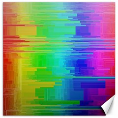 Colors Rainbow Chakras Style Canvas 20  X 20   by Celenk