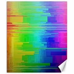 Colors Rainbow Chakras Style Canvas 20  X 24   by Celenk