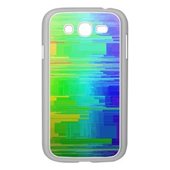Colors Rainbow Chakras Style Samsung Galaxy Grand Duos I9082 Case (white) by Celenk