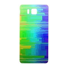 Colors Rainbow Chakras Style Samsung Galaxy Alpha Hardshell Back Case by Celenk
