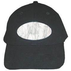 Background Modern Smoke Design Black Cap by Celenk