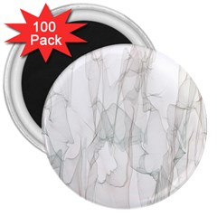 Background Modern Smoke Design 3  Magnets (100 Pack) by Celenk
