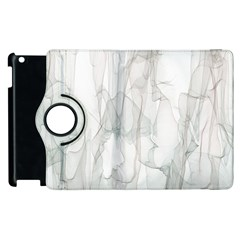 Background Modern Smoke Design Apple Ipad 2 Flip 360 Case by Celenk
