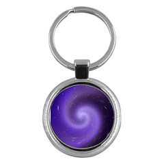 Spiral Lighting Color Nuances Key Chains (round)  by Celenk