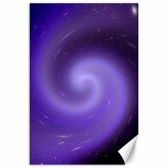 Spiral Lighting Color Nuances Canvas 24  X 36  by Celenk
