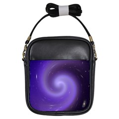 Spiral Lighting Color Nuances Girls Sling Bags by Celenk