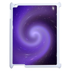 Spiral Lighting Color Nuances Apple Ipad 2 Case (white) by Celenk